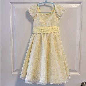 Jona Michelle Yellow and white Daisy dress 4